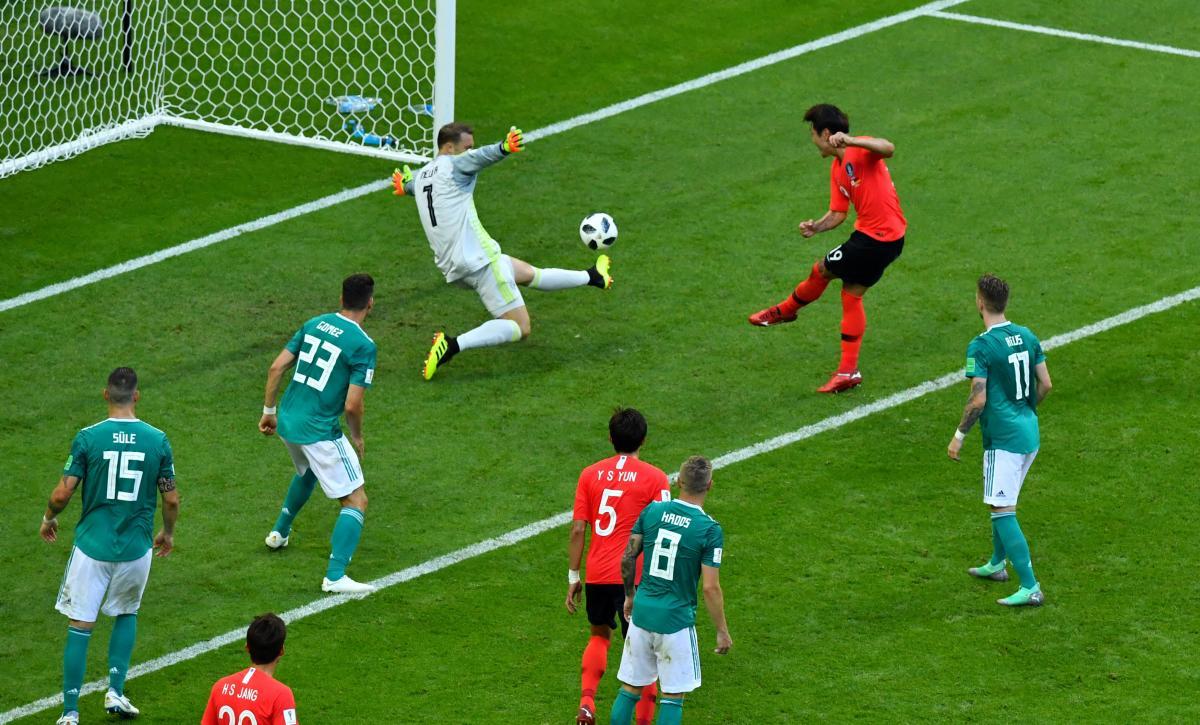 Нойєр невдало зіграв у матчі Німеччини та Південної Кореї на ЧС-2018 / Reuters