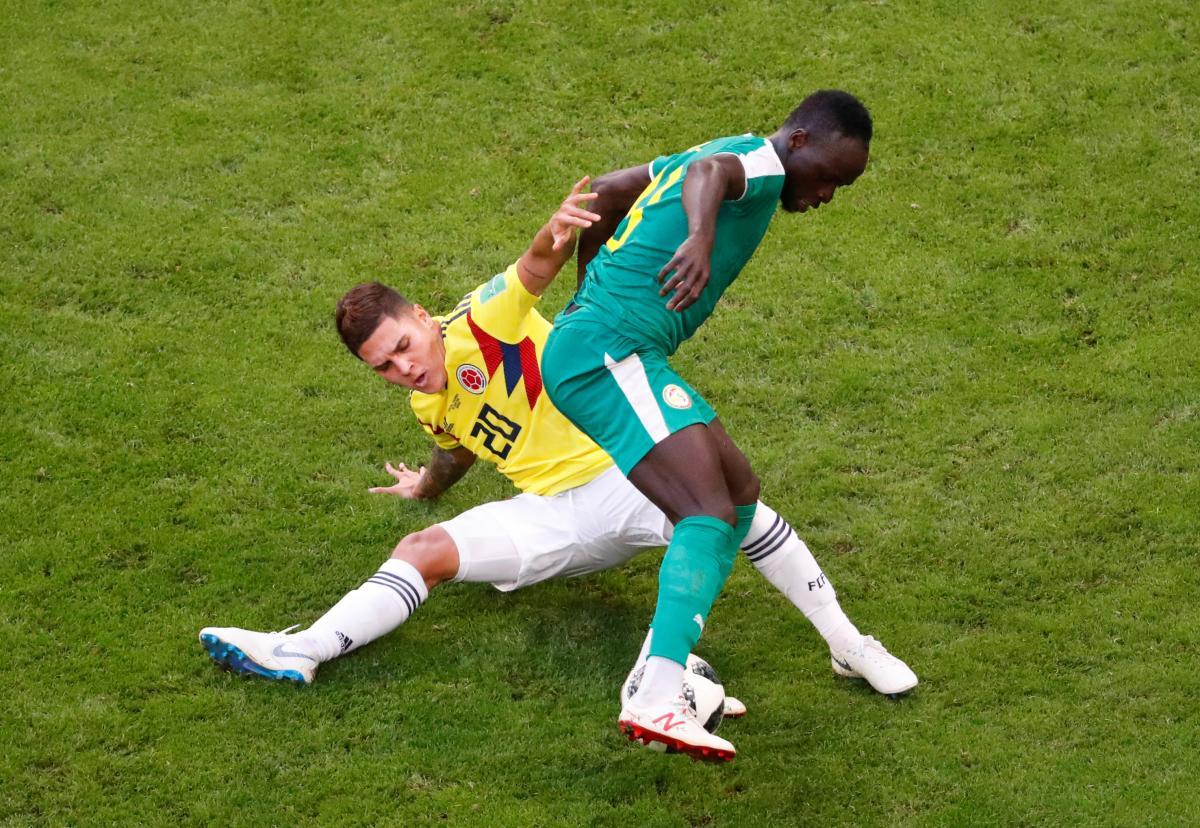 Сенегальцы не смогли пробить колумбийскую оборону / Reuters