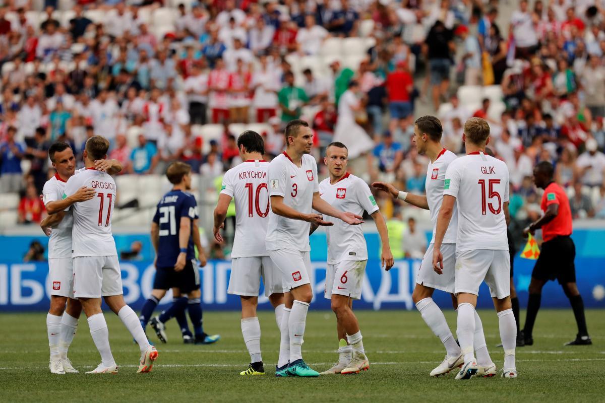 Польша обыграла Японию в своем последнем матче ЧМ-2018 / Reuters