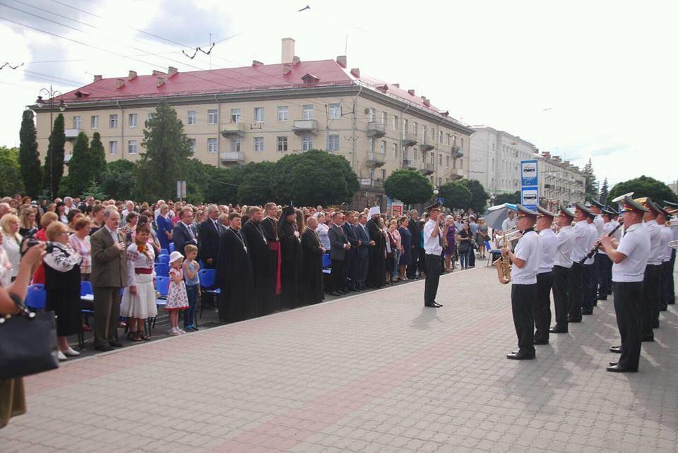 Представники єпархій взяли участь в урочистостях / church.ua