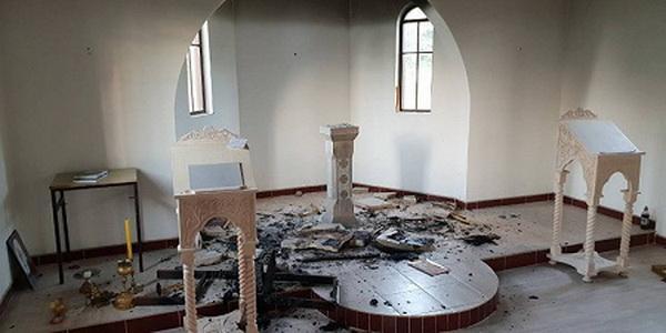 Невідомі вандали сильно пошкодили храм Пресвятої Богородиці в Чекрчиче / sedmitza.ru