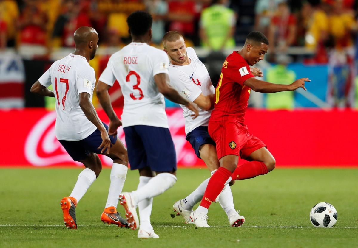 Збірна Бельгії обіграла команду Англії в матчі ЧС-2018 / Reuters