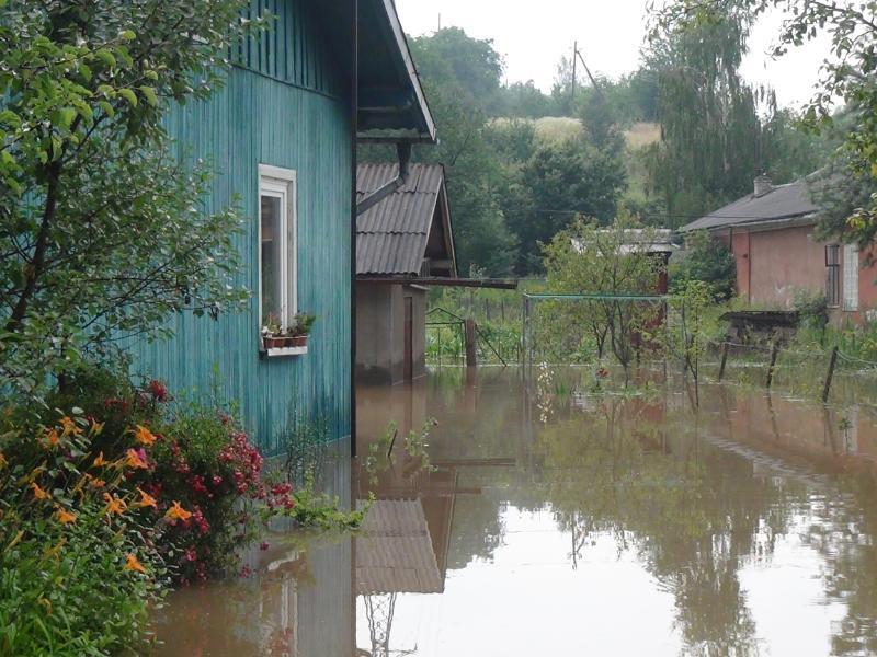 На Прикарпатье из-за непогоды подтоплено 89 домов / фото ГСЧС