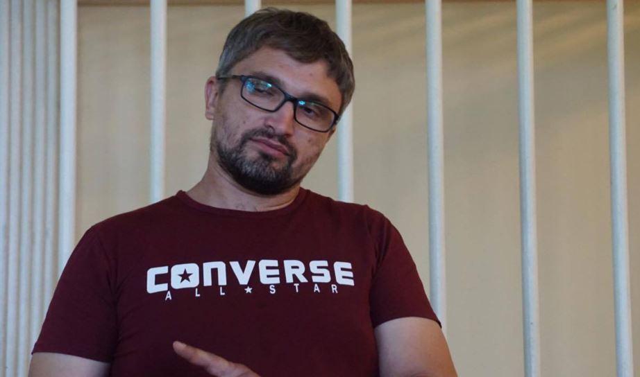Nariman Memedeminov was sentenced to 2.5 years in prison in October 2019 / Photo from Anton Naumlyuk