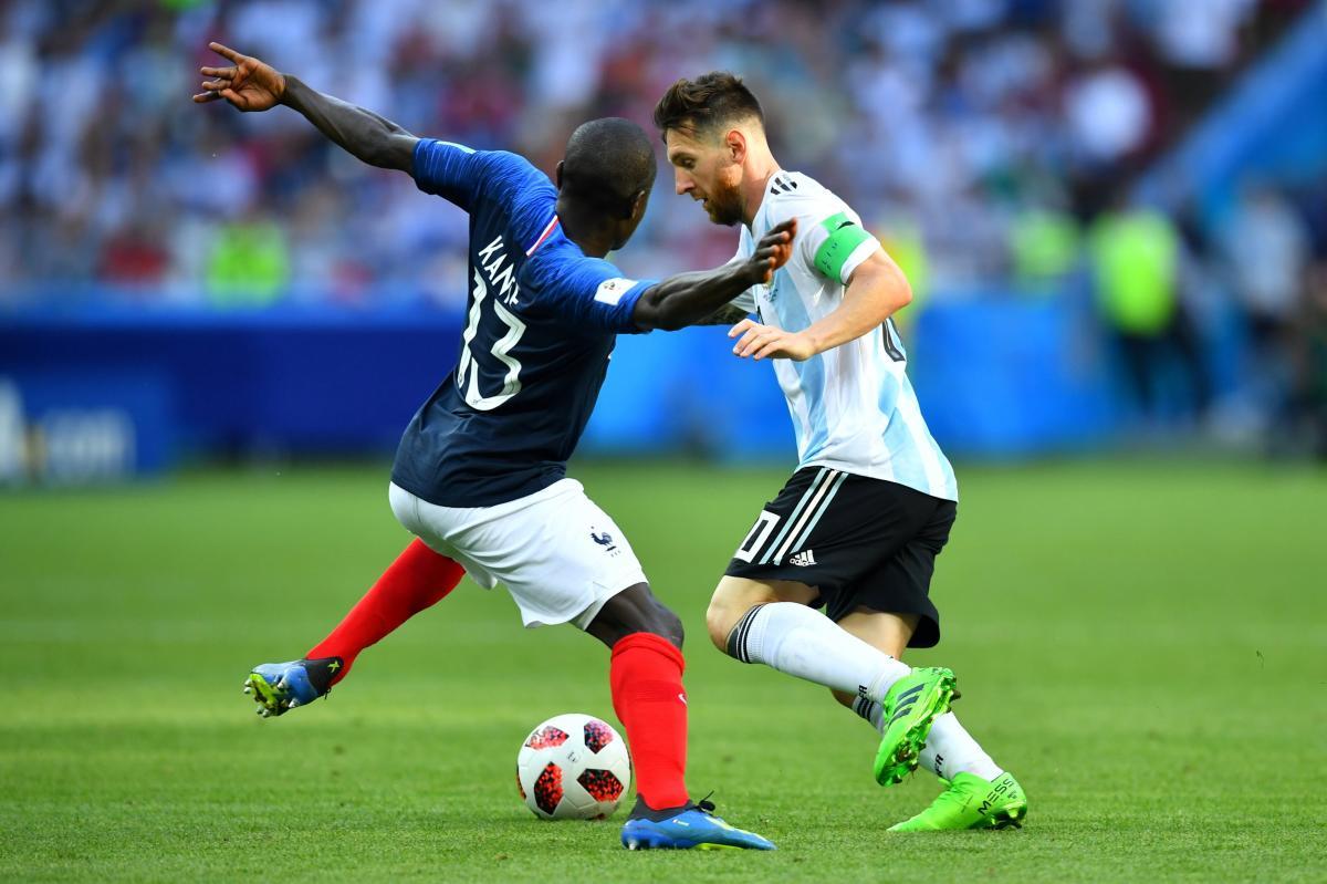 Французы не пустили Месси и Ко в четвертьфинал ЧМ-2018 / Reuters