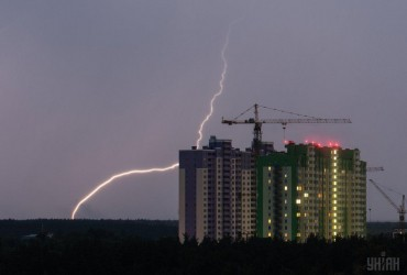 В Киеве завтра пройдет дождь с грозой, температура до +20°