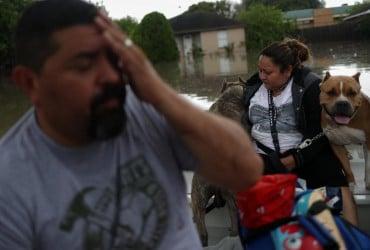 Сильные дожди вызвали потоп в Техасе (фото, видео)