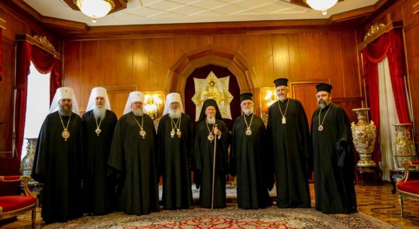 У Стамбулі триває зустріч делегації Української Православної Церкви з Патріархом Варфоломієм (+відео, фото)