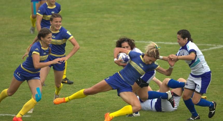 Жіноча збірна України з регбі-7 вийшла у фінал домашнього чемпіонату Європи