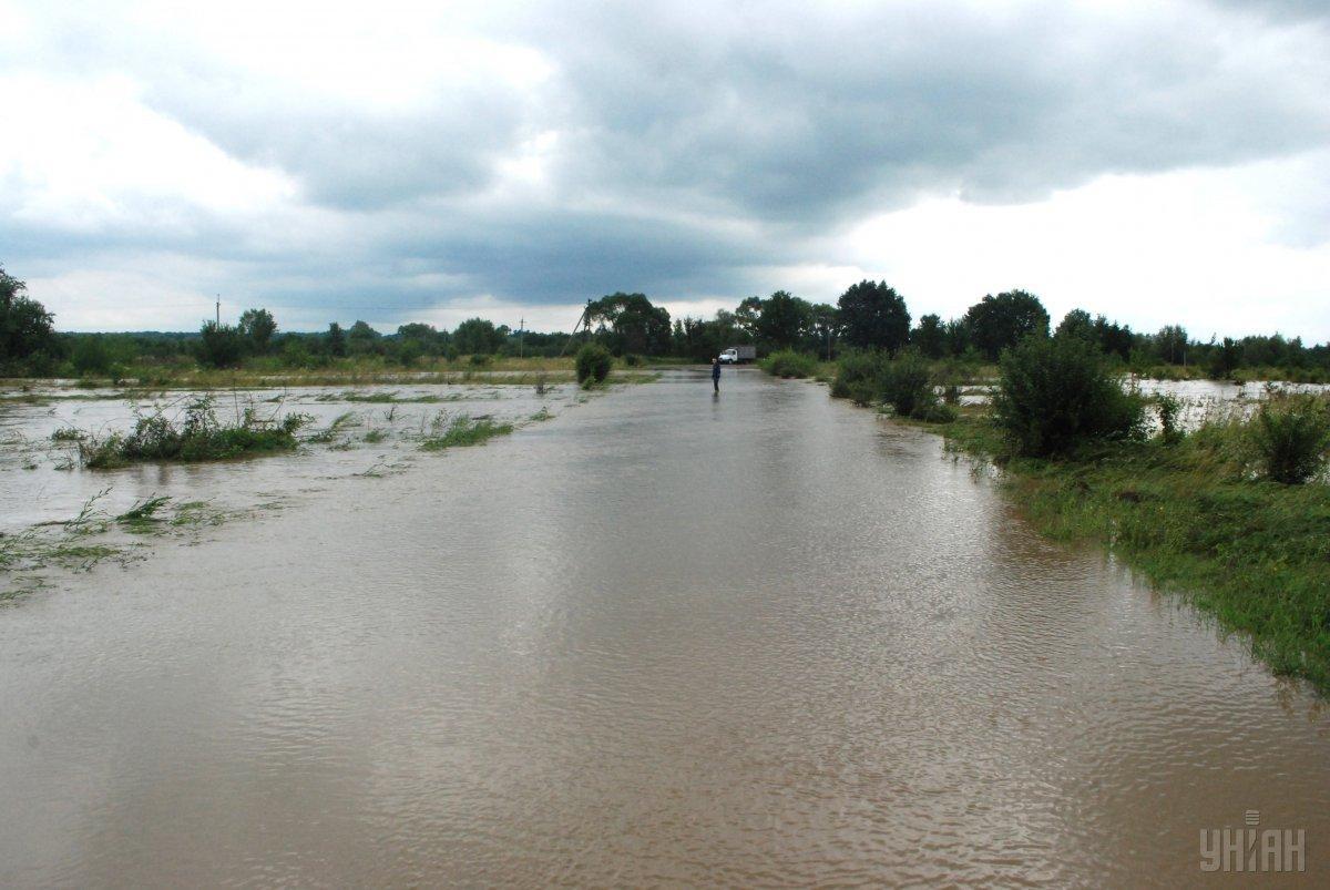 Убытки от паводка превышают 150 млн грн / фото УНИАН