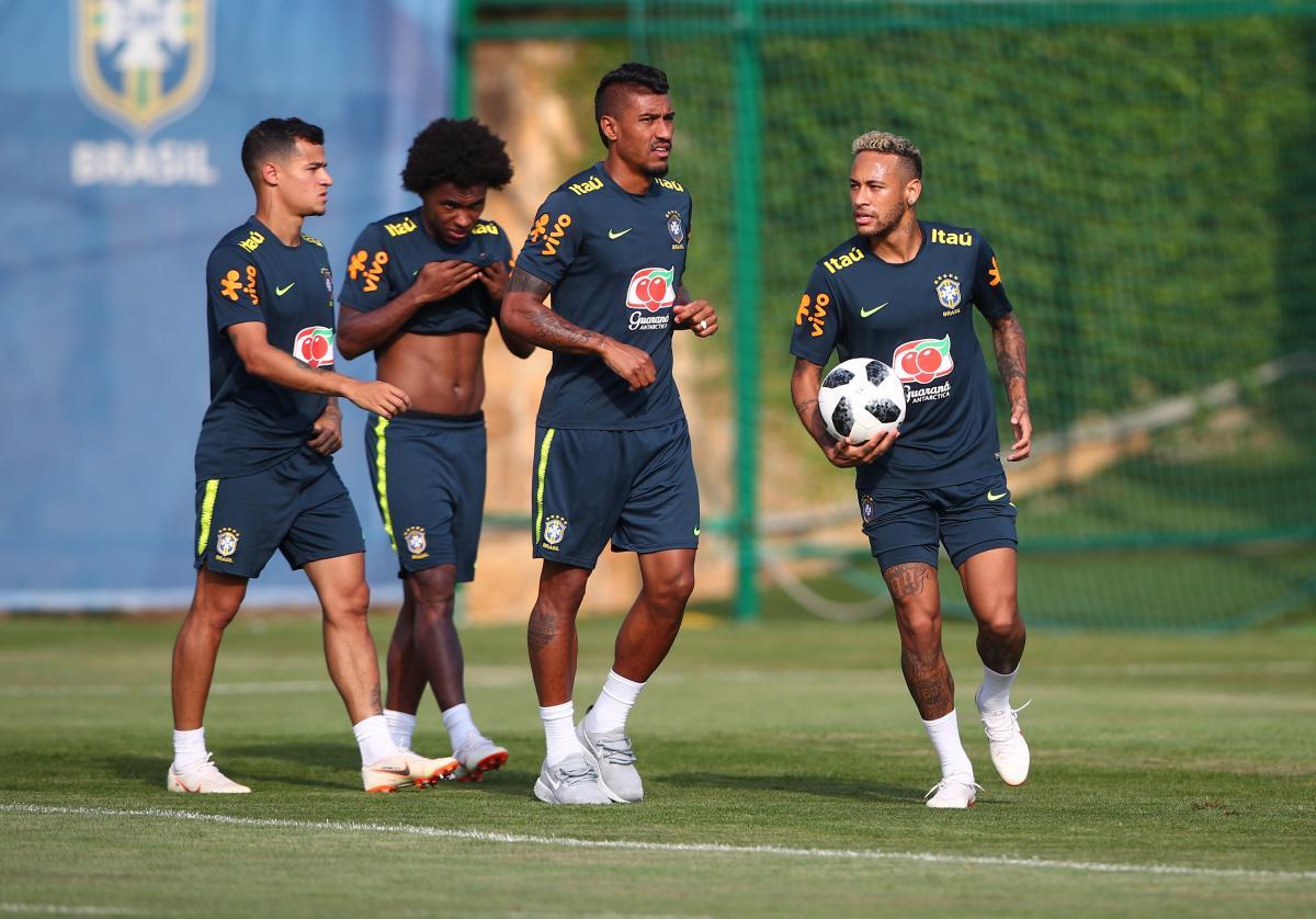 Сборная Бразилии является явным фаворитом в матче с командой Мексики в 1/8 финала ЧМ-2018 / Reuters