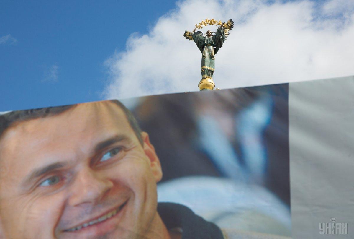 Сенцов голодает уже 100 дней / Фото УНИАН