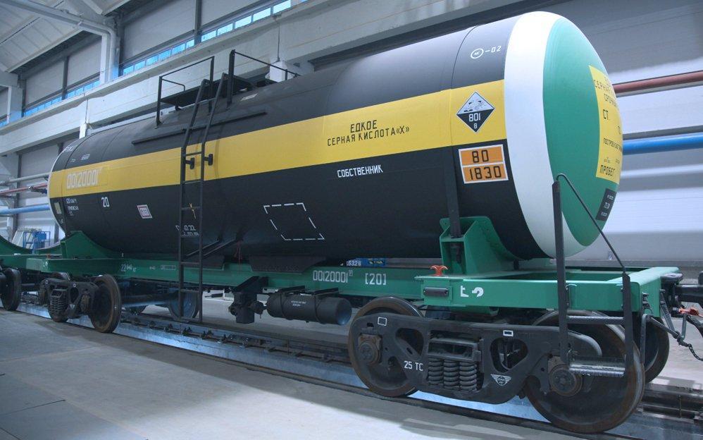 Украина ввела квоты на импорт серной кислоты / фото uniwagon.com