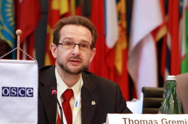 Глава ОБСЄ Томас Гермінгер / news.church.ua