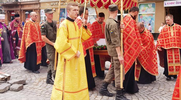 В Ужгороде состоялся крестный ход УГКЦ / zak-kor.net