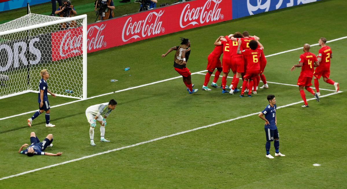 Бельгия обыграла Японию - 3:2 / REUTERS