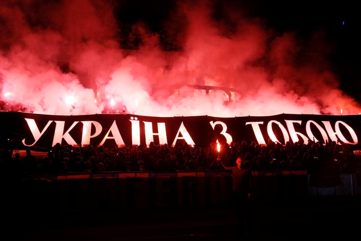 Акция в поддержку Сенцова / REUTERS