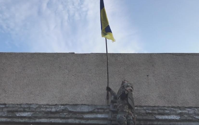 Золотое-4 освободили в конце июня / Скриншот видео пресс-центр штаба ООС