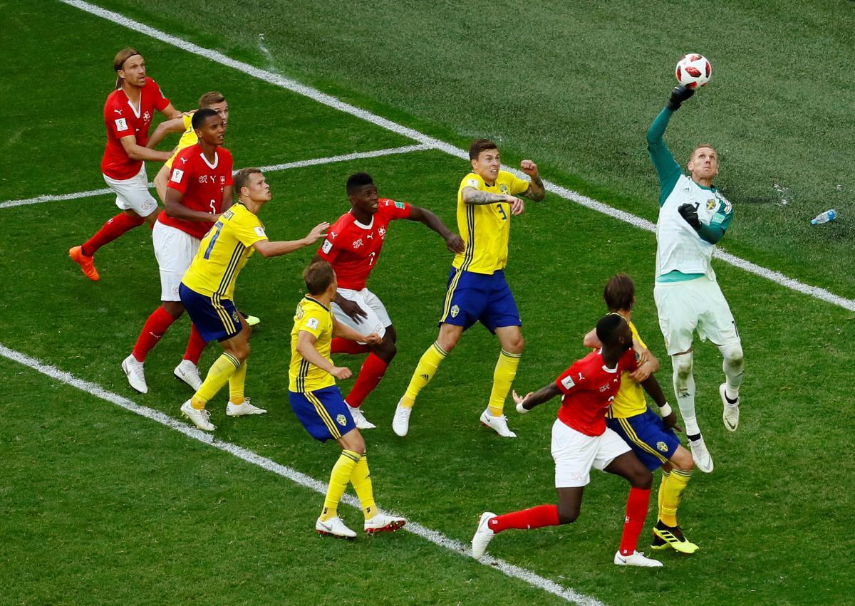Швеція - Швейцарія / REUTERS