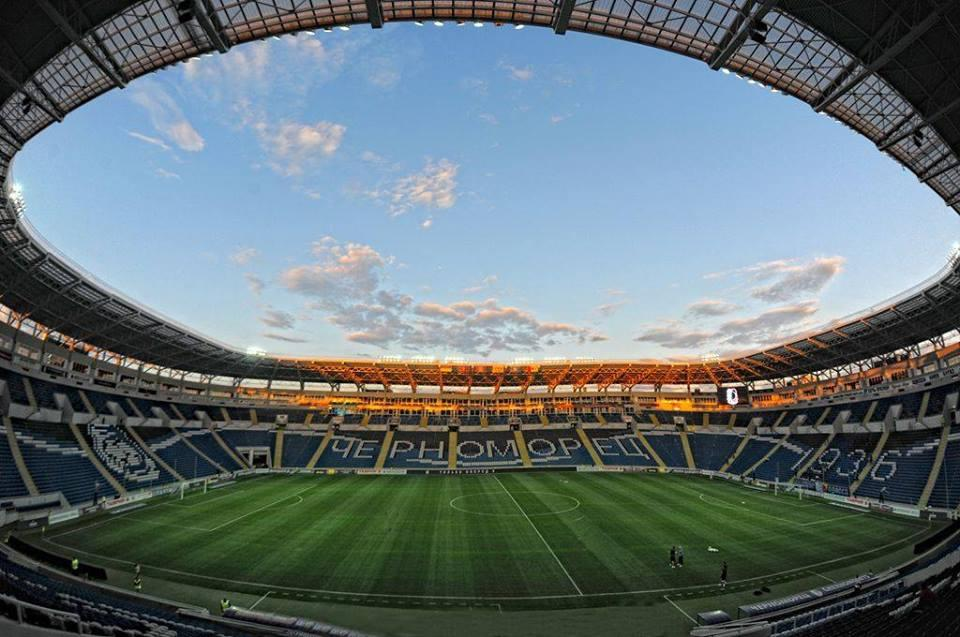 На стадионе Черноморец выступает одноименный клуб / фото ФК Черноморец