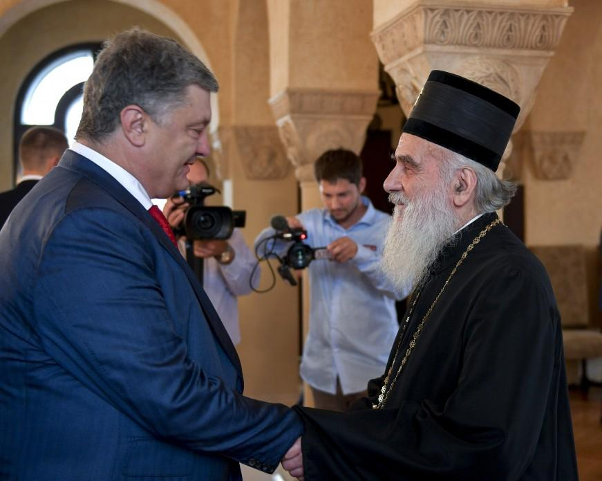 Президент України зустрівся з Патріархом Іринеєм / president.gov.ua