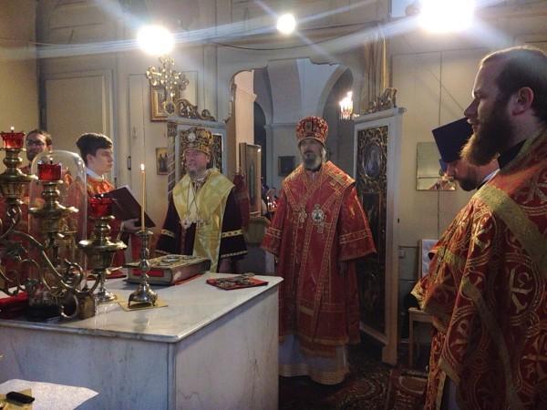 15-річчя обрітення мощей священномученика Сергія Ракверського / orthodox.ee