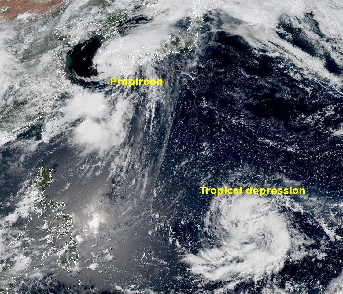 Тайфун накрив Японію / twitter.com/metofficestorms
