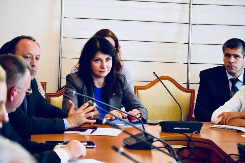 Фриз сообщила о решении комитета по вопросам нацбезопасности / фото facebook.com/Iryna.Friz