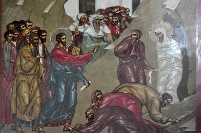 На фреске обновились лики святых и рука Христа / cherkasy-orthodox.com.ua