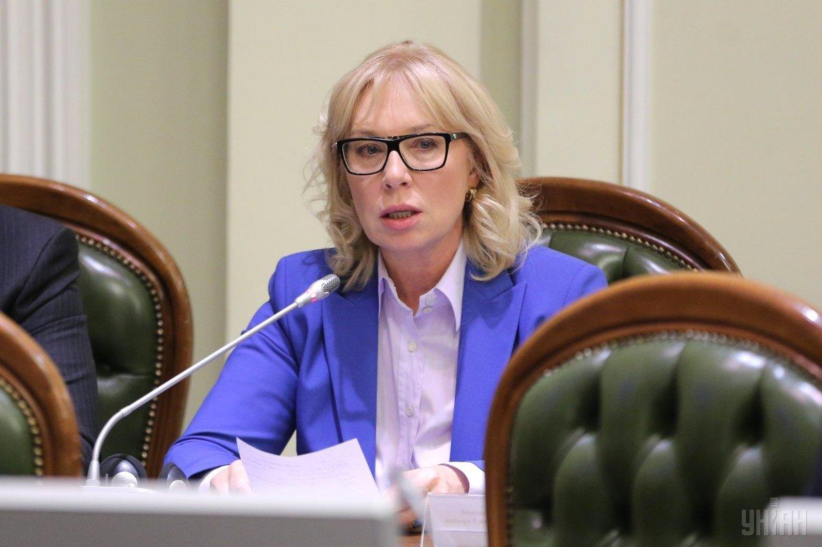 Denisova briefs the British ambassador on Ukrainian captives in Donbas / Photo from UNIAN
