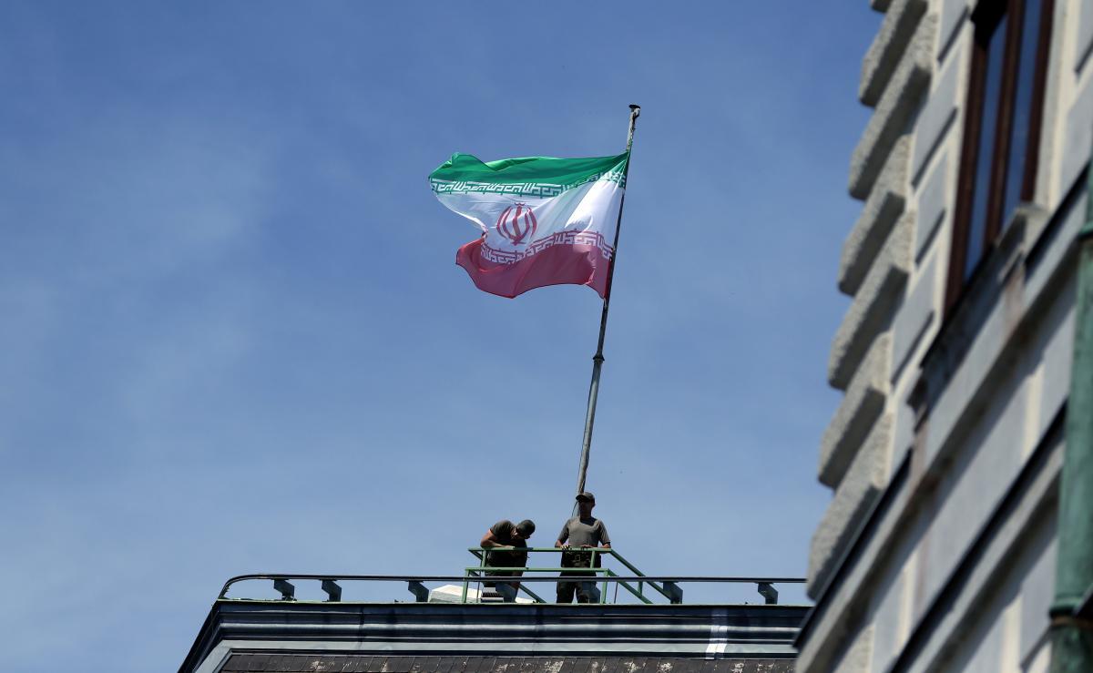 Прапор Ірану, ілюстрація / REUTERS
