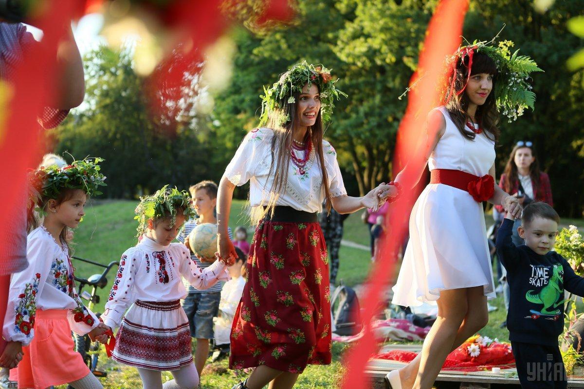 Ивана Купала - праздник для взрослых и детей / Фото УНИАН