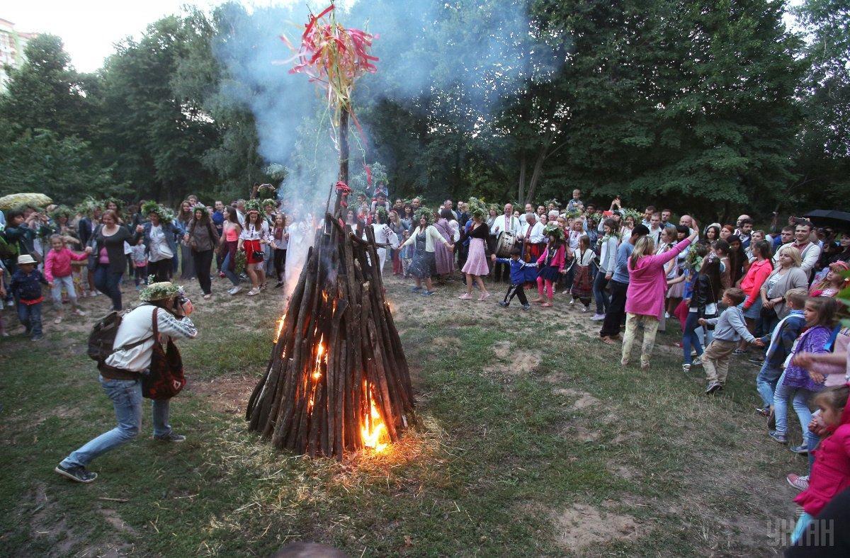 Солнцестояние и Купала – часть единых языческих праздников Русалии / фото УНИАН