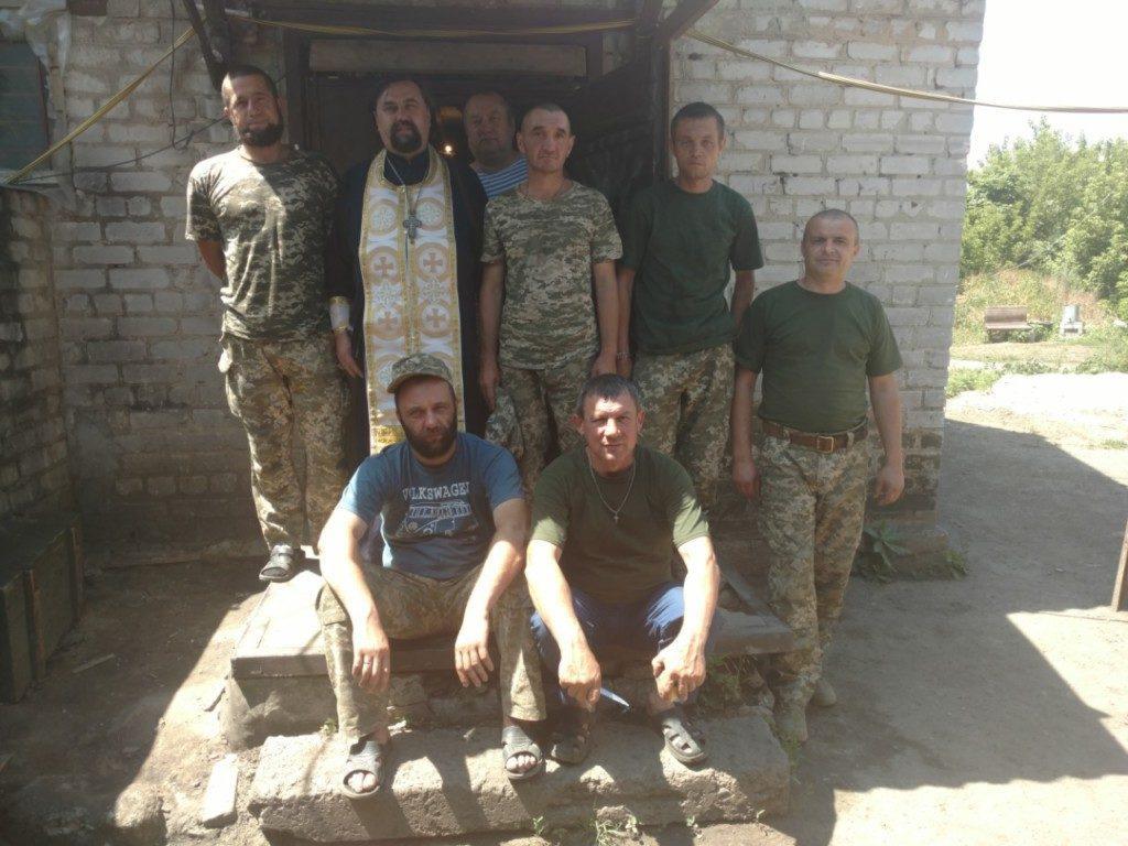 Военные 14 бригады находятся в Попасной Луганской области / kam-blag.church.ua