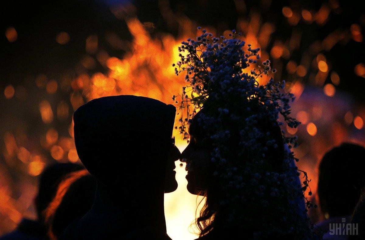 Ивана Купала - это еще и романтично / Фото УНИАН