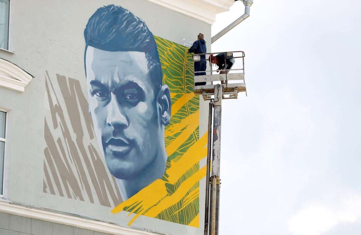 Завтра в Казані збірна Бразилії на чолі з Неймаром зіграє з командою Бельгії / REUTERS