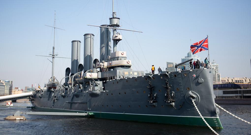 Крейсер першого рангу «Аврора» був побудований уСанкт-Петербурзі у1903 році / foma.ru