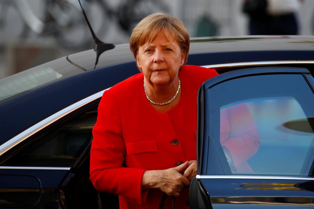 """Политическая цена """"Северного потока-2"""" слишком высока для Меркель / фото REUTERS"""