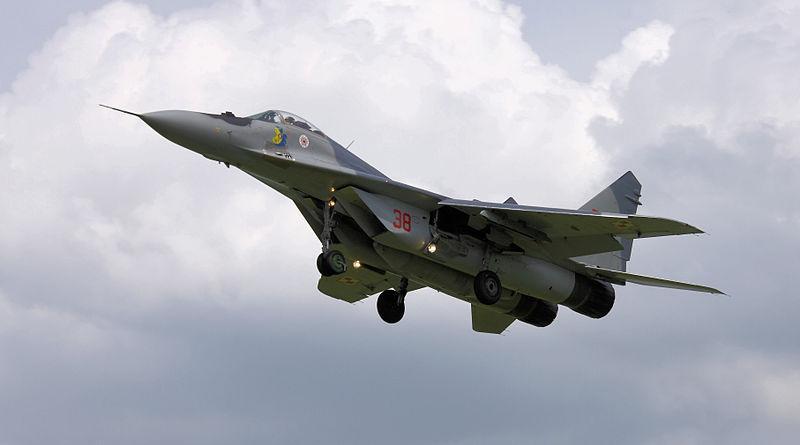 В Польше разбился военный истребитель Миг-29 / фото wikimedia.org