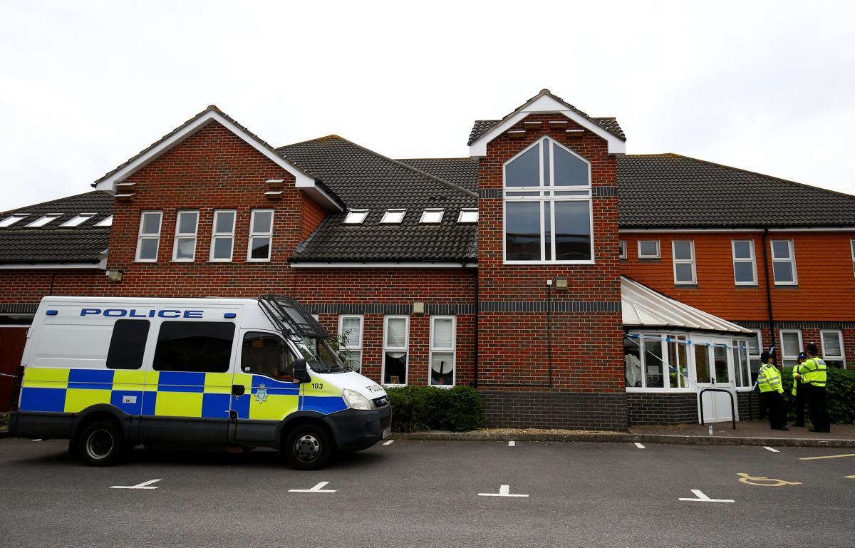 Место, где двое британцев отравились нервно-паралитическим веществом / REUTERS