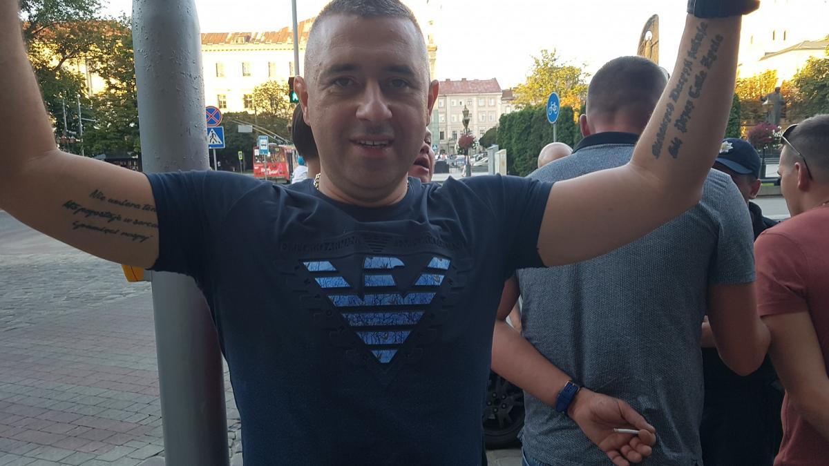 Во Львове задержали поляков, оскорблявших украинок и побивших украинцев / Facebook - Volodymyr Roman