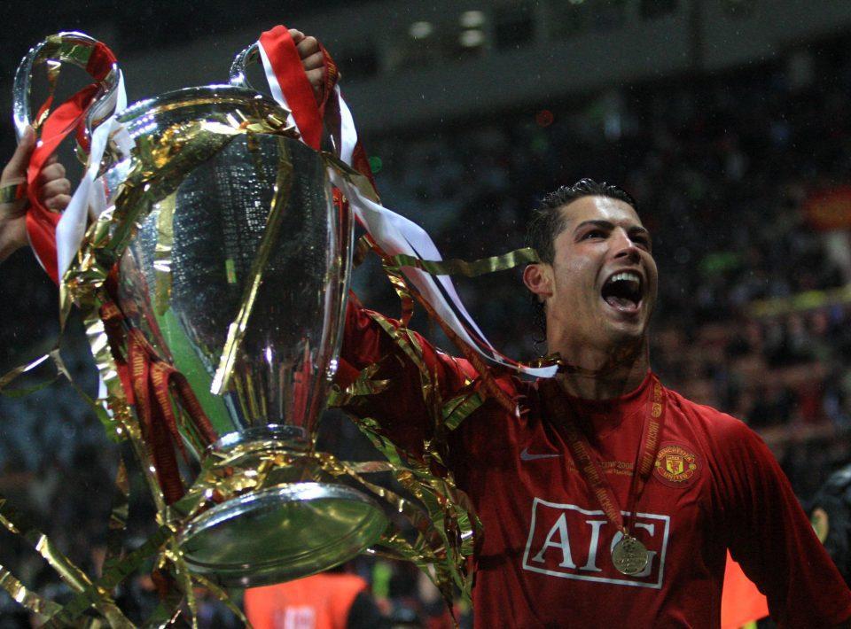 """Роналду вигравав Лігу чемпіонів у складі """"Манчестер Юнайтед"""" / Reuters"""