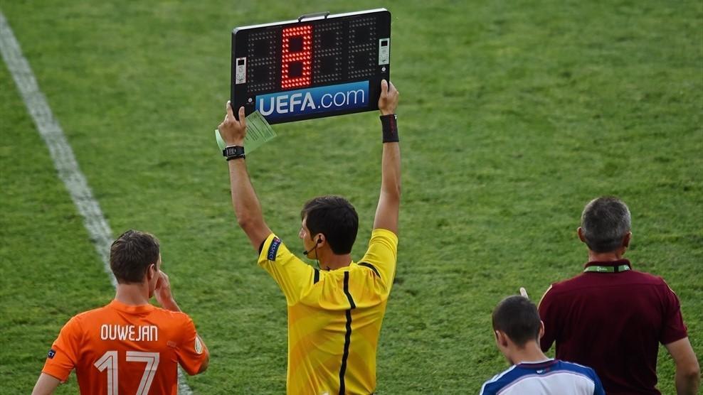 УЕФА разрешил четвертую замену в матчах под своей эгидой / Sportsfile