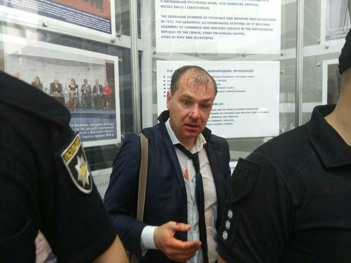 На вызов прибыла полиция / фото Телеграм С14