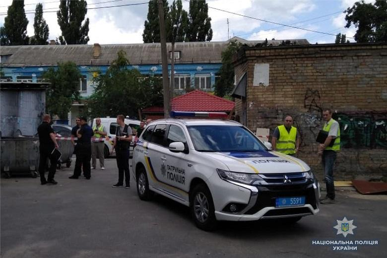 Полиция задержала подозреваемого в убийстве подполковника полиции Глушака / фото kyiv.npu.gov.ua