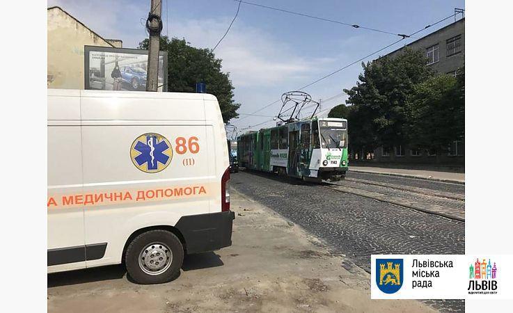 Во Львове в трамвае умер пассажир / фото Львовский городской совет