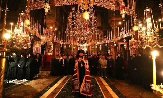 Богослужіння відбувалося грецькою і церковнослов'янською мовами / mospat.ru