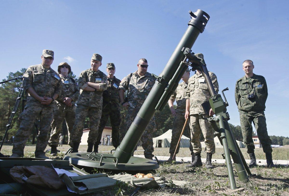 """В командовании 128 бригады утверждают, что без экспертизы восстановить картину взрыва миномета """"Молот"""" на Ривненщине не удастся / УНИАН"""