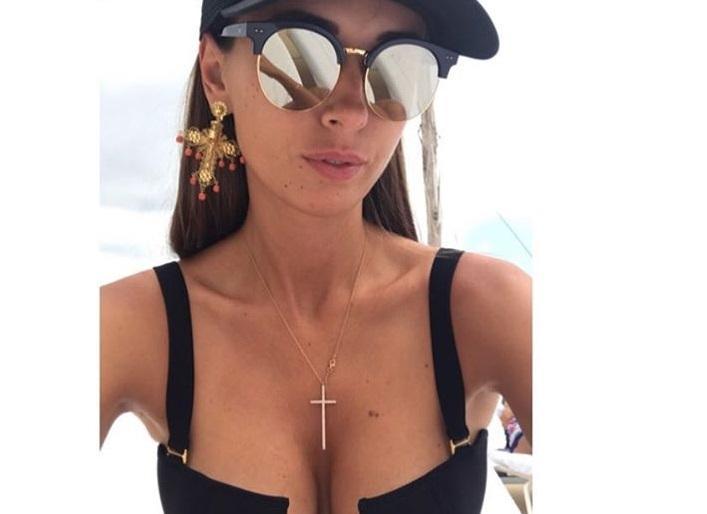 Лиза Ющенко похвасталась фото в купальнике / скриншот