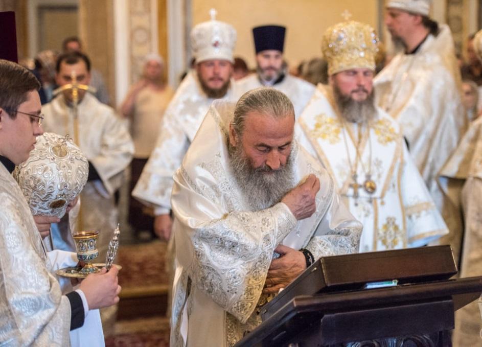Митрополит Онуфрій очолив всенічне бдіння в Успенському соборі / news.church.ua